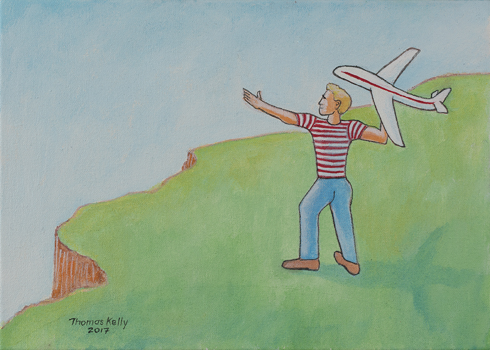 Collected Paintings Toy Airplane