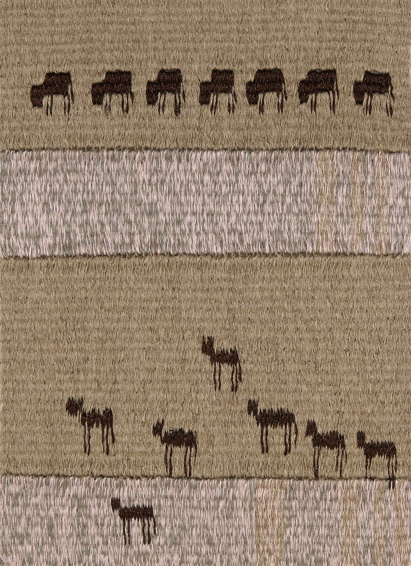"TAPESTRIES: THE STORY OF JOSEPH ""And, look, out of the Nile came up seven cows, fair to look at and fat in flesh, and they grazed in the rushes. And, look, another seven cows came up after them out of the Nile, foul to look at and meager in flesh."" (Gen. 41:2,3)"
