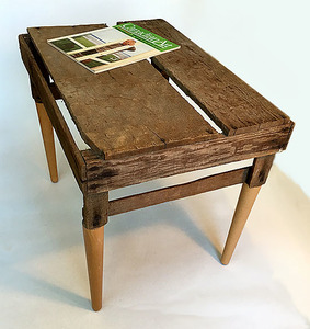 Bruce Rosensweet FURNITURE Found objects, magazine