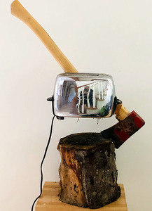 Bruce Rosensweet NEW WORK Found objects, firewood