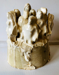Bruce Rosensweet NEW WORK Found objects, plaster of Paris, shellac