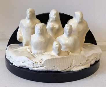 Bruce Rosensweet NEW WORK Found objects, plaster casts, shellac