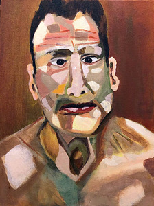 Bruce Rosensweet PAINTINGS Acrylic on canvas board