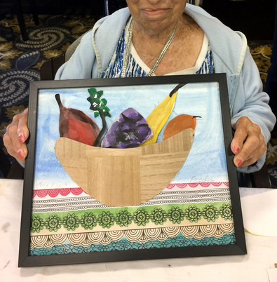 Creative Aging Arts People in Assisted Living