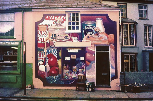 Edward POVEY Selected Early Murals Gloss oil-based house paint on primed cement rendering