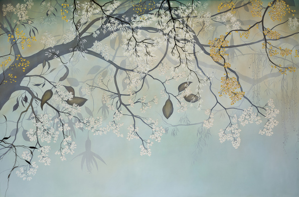 IVY JACOBSEN Paintings No.1 oil on wood panel