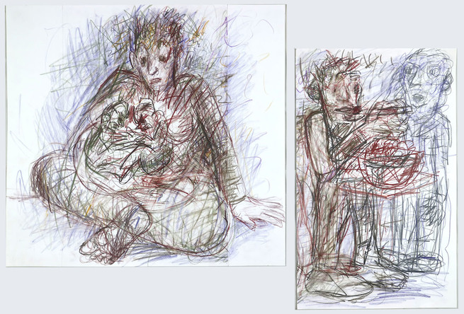 "John Minkoff Recent Drawings: ""Genesis"" and ""The Apocrypha"""