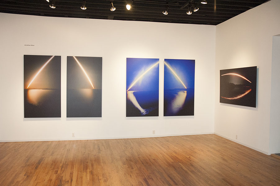 Ecliptics/Sunrise & Sunset Installation View, Seeing the Light, Carl Solway Gallery. Cincinatti, Ohio.