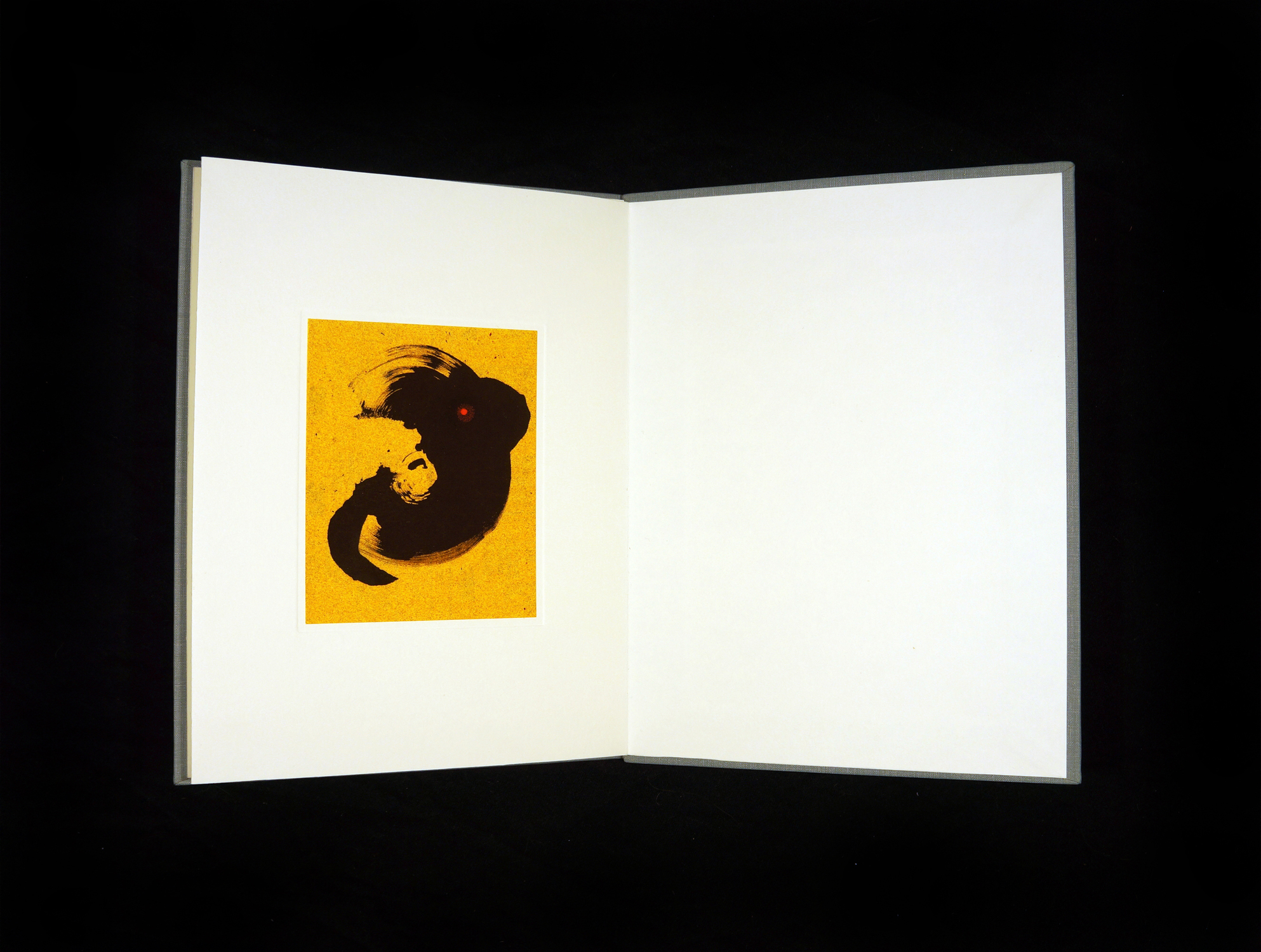 Sumi-Sandpaper Book