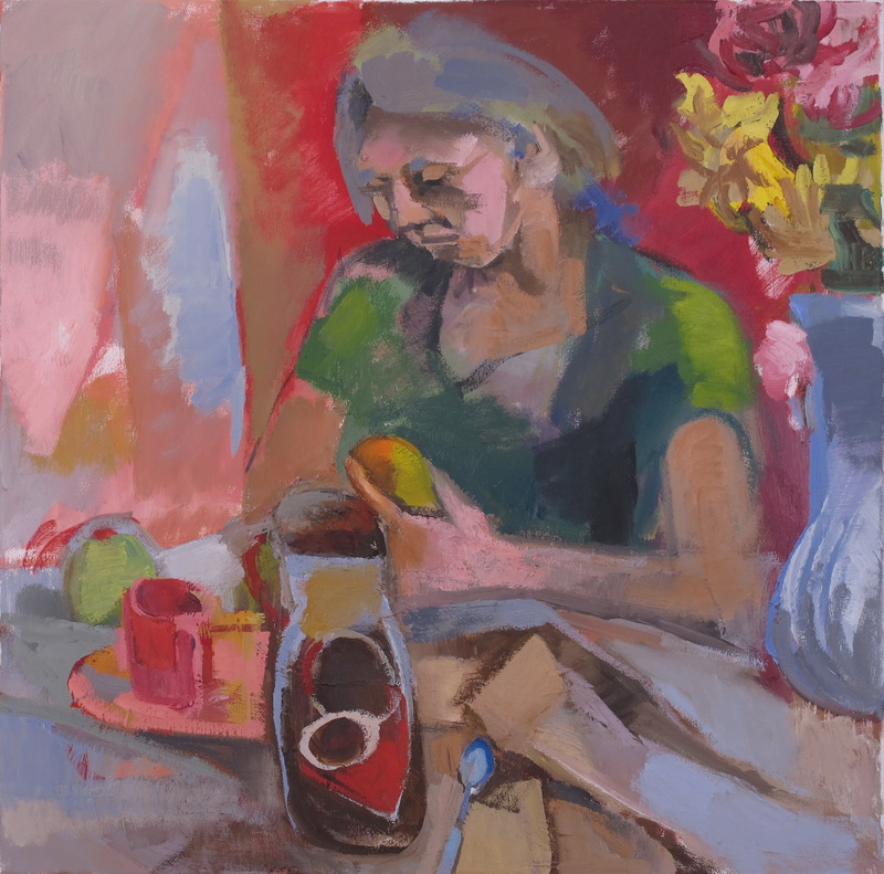 Martha Hayden Figures oil on canvas