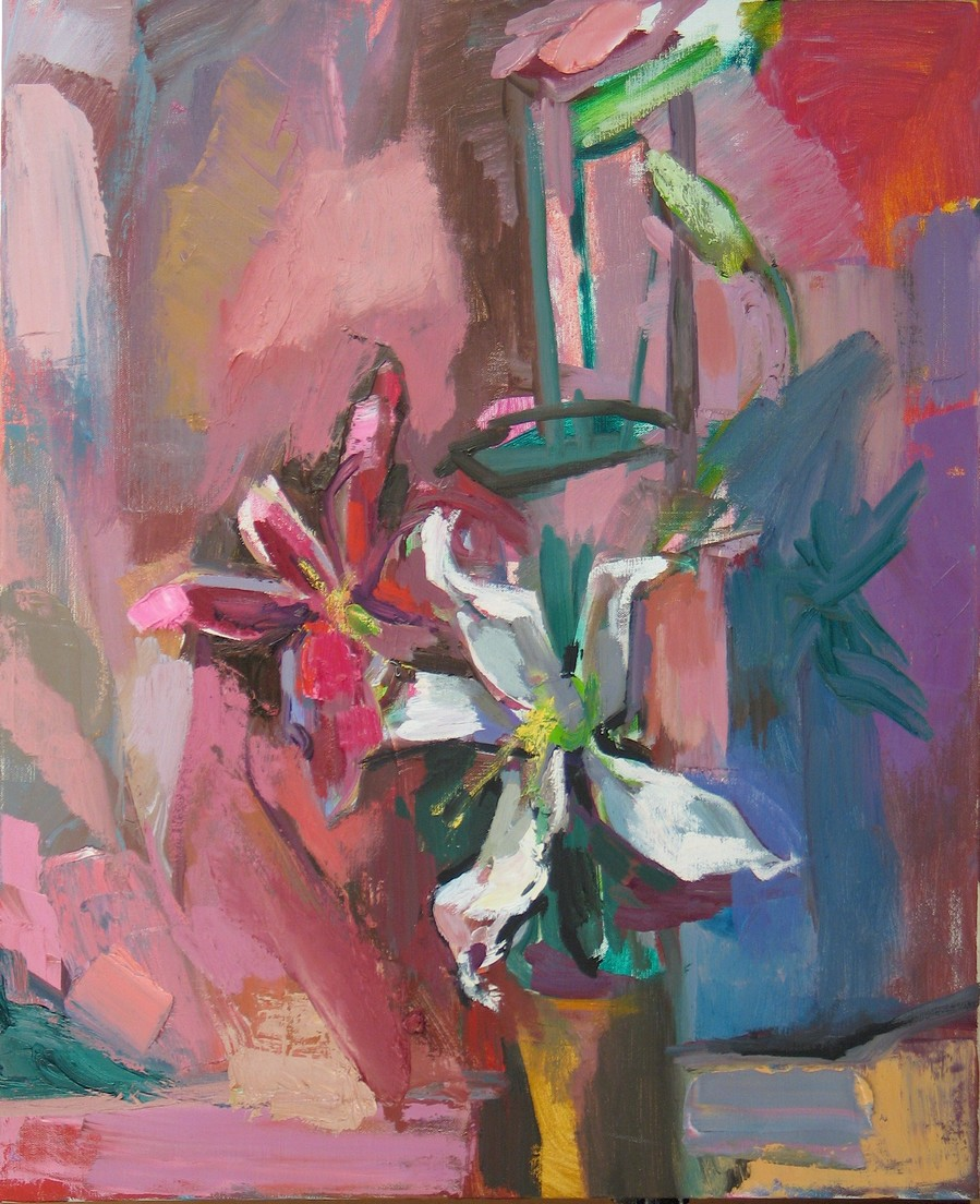 Virtual Open Studio II Still Life with Lillies