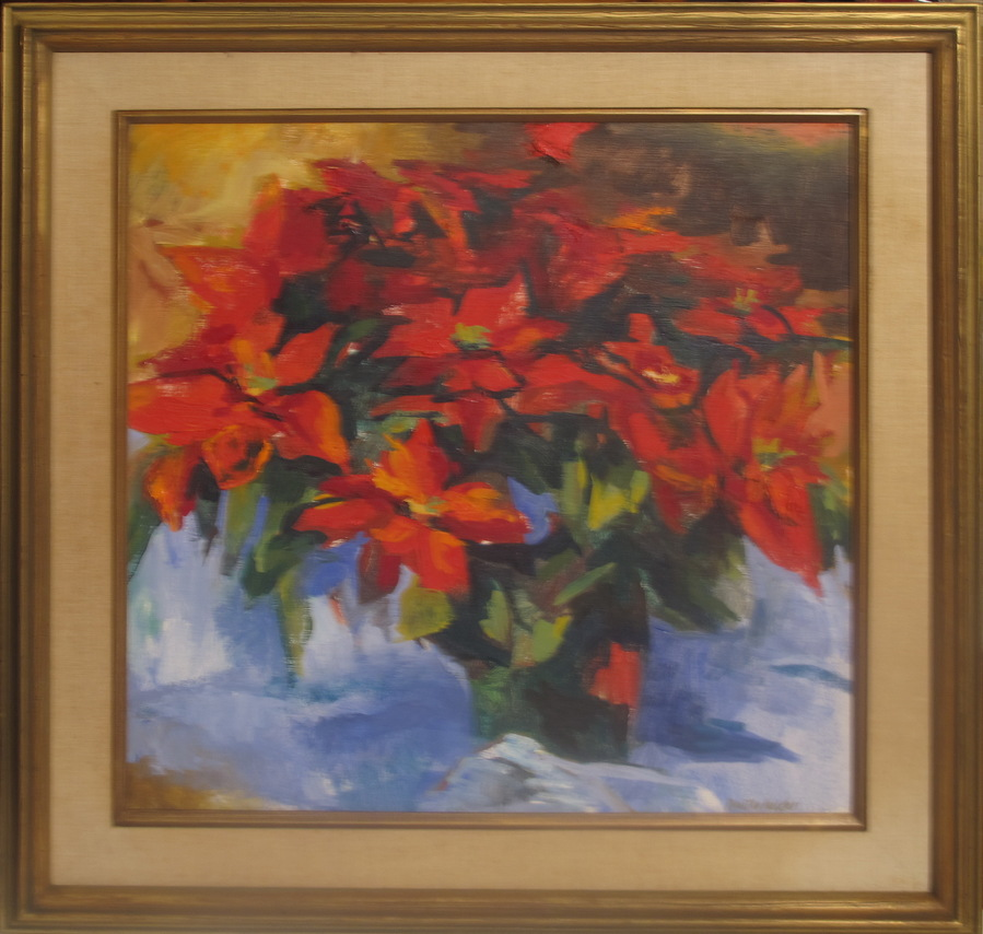 Mothers Day Flowers Poinsettias