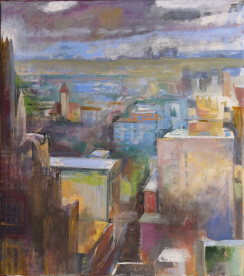 Martha Hayden St. Louis oil on linen