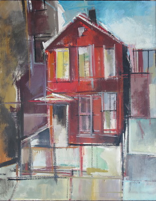 Martha Hayden Virtual Open Studio Ill oil on canvas
