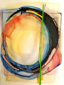 Melinda Zox  Works on paper 2012-2019 Watercolor, Gouache,Pencil, Charcoal, on Cold Press Paper
