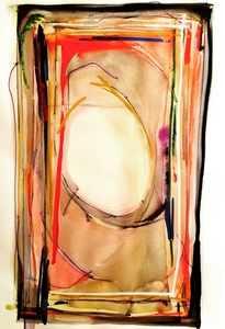Melinda Zox  Works on paper 2012-2019 Watercolor, Gouache, Ink, Charcoal, on Hot Press Paper