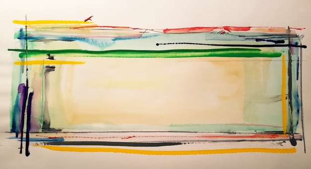 Melinda Zox  Works on paper 2012-2019 Watercolor, Acrylic, Ink, Cold Press Paper