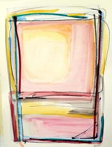 Melinda Zox  Works on paper 2012-2019 Mixed media on paper