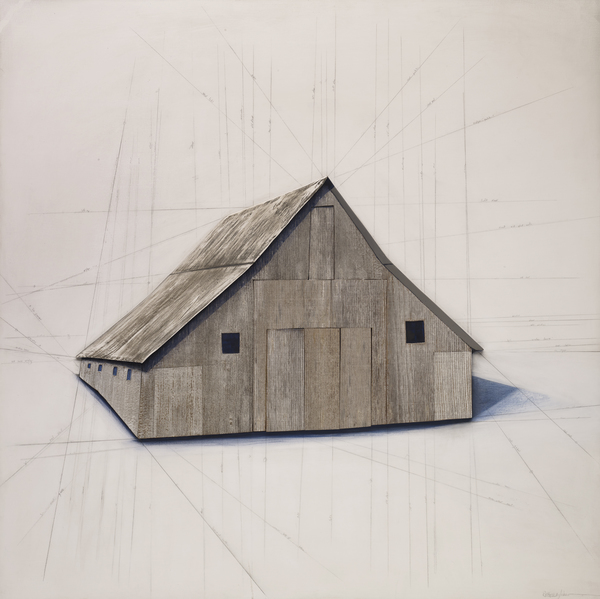 Rebecca Johnson Painting and Sculpture painting/constructions salvaged barn wood, acrylic paint, hydro-cal plaster on wood panel