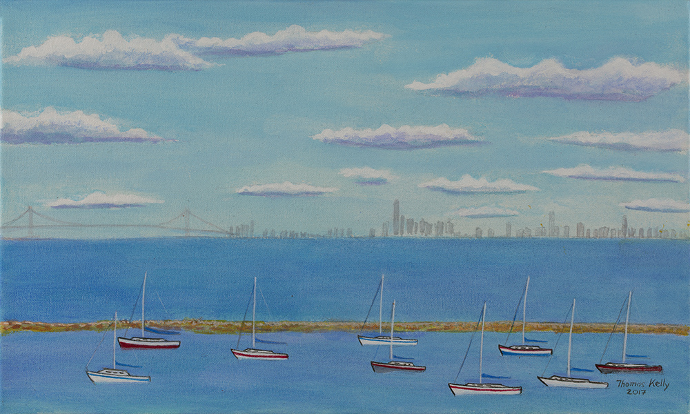 Collected Paintings Atlantic Highlands Yacht Club
