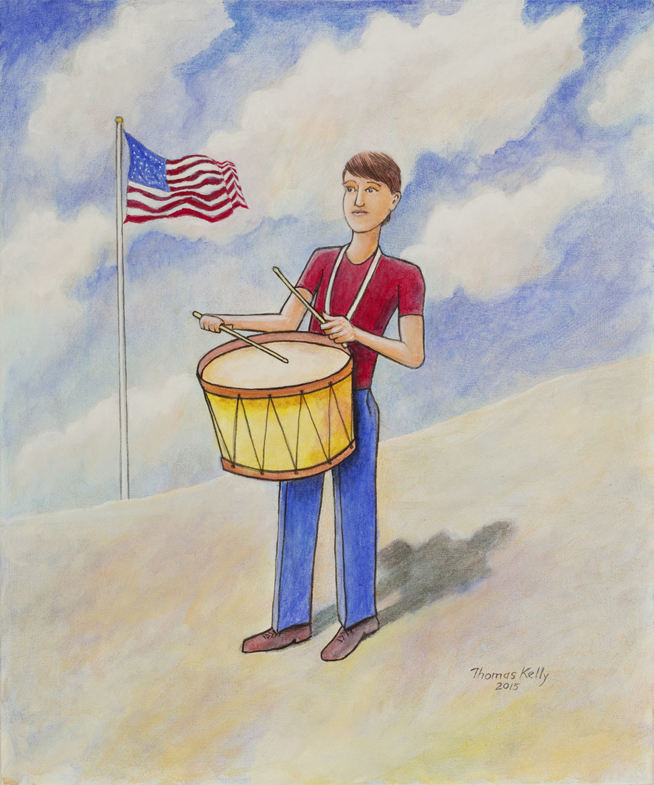 Collected Paintings American Drummer Boy