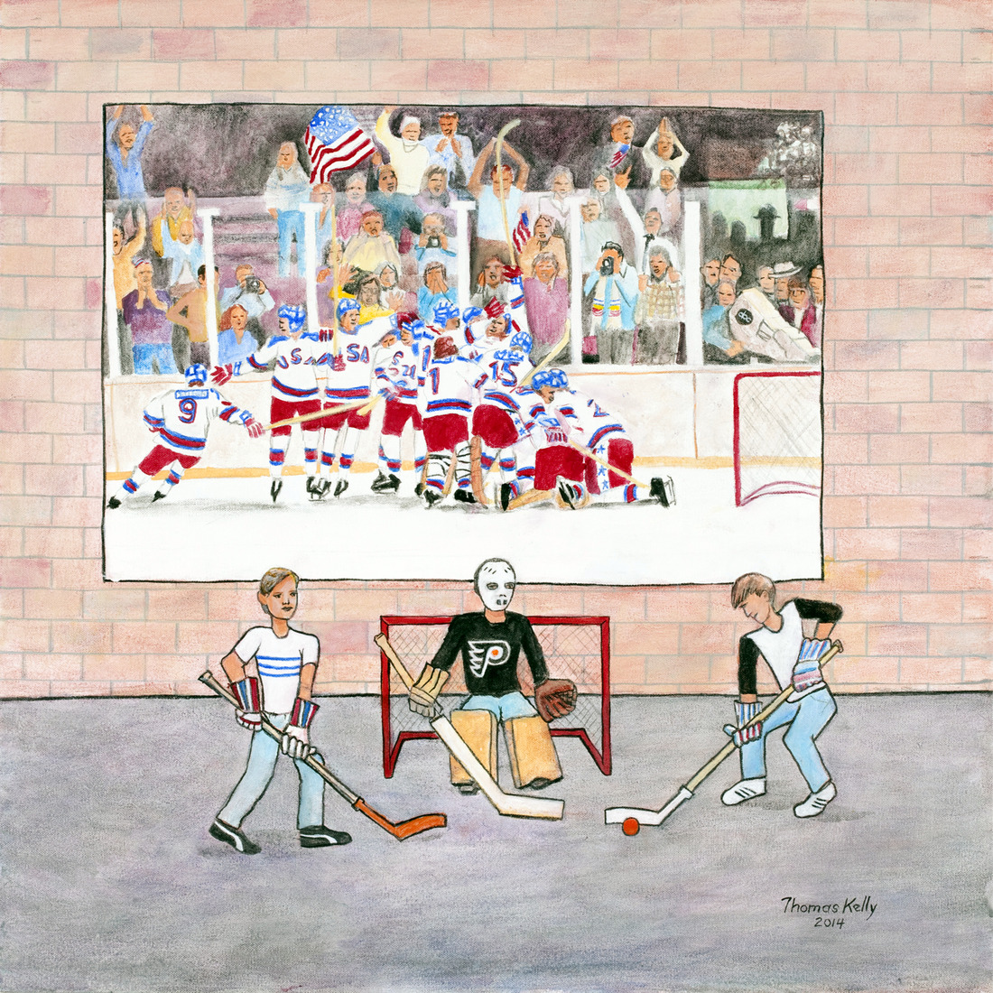 Collected Paintings Miracle on Ice