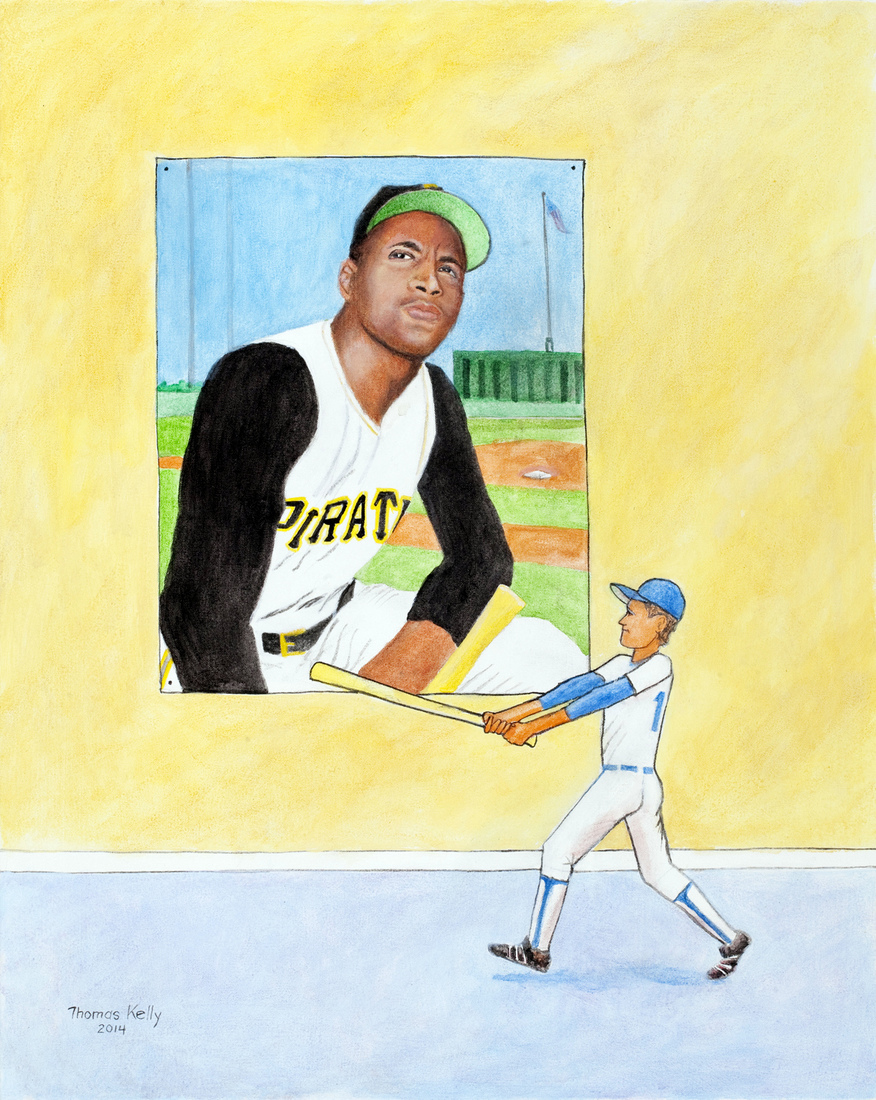 Collected Paintings Roberto Clemente