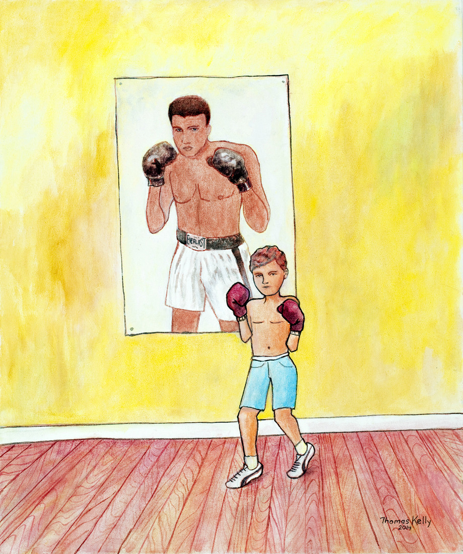 Collected Paintings Muhammed Ali