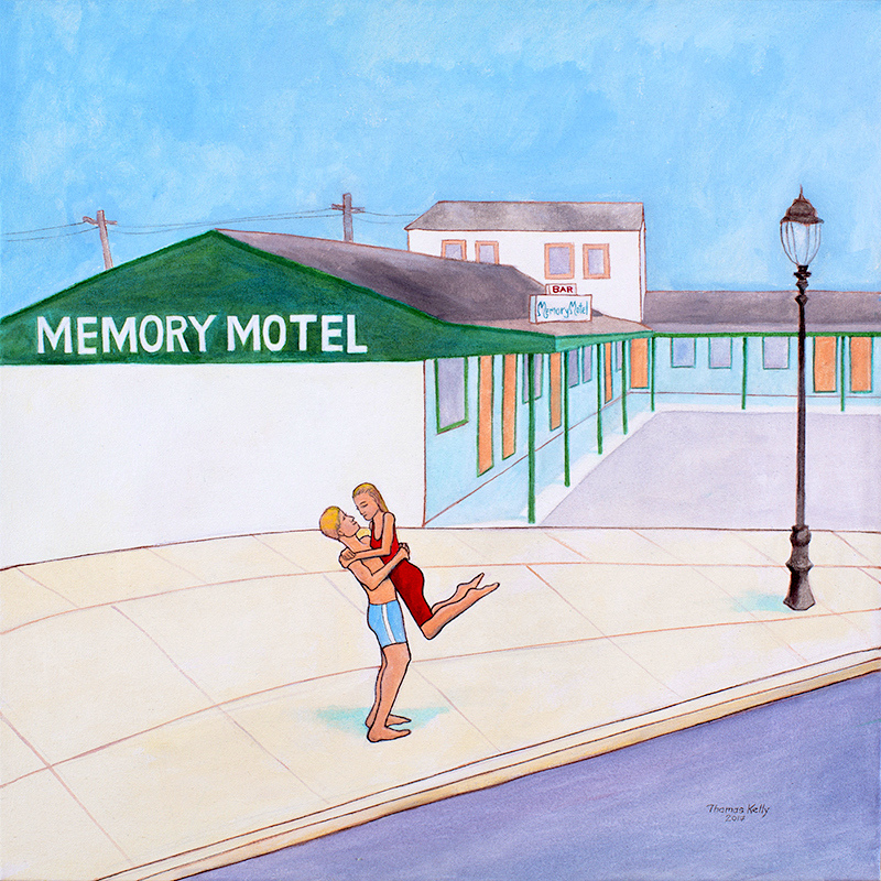 Collected Paintings Memory Motel