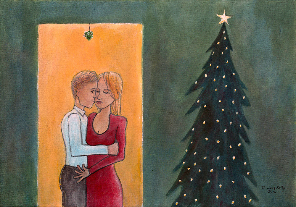 Available Paintings Mistletoe
