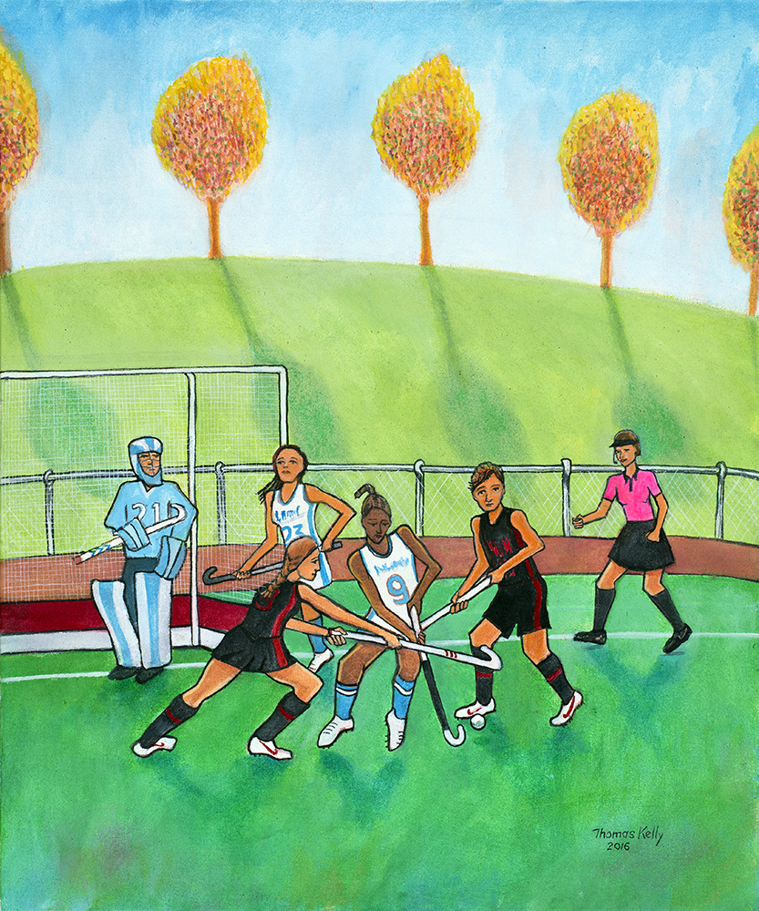 Commissioned Paintings Field Hockey