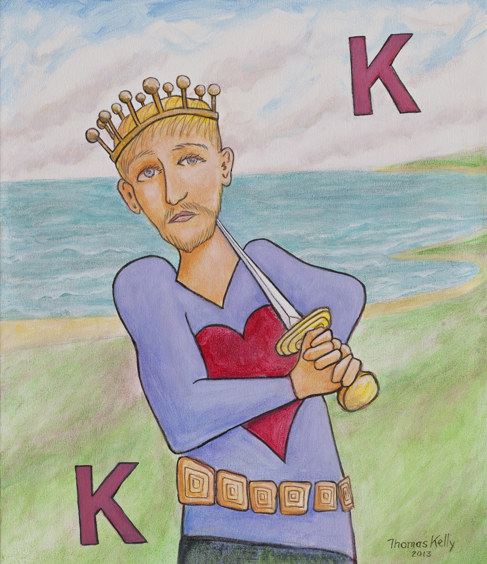 Commissioned Paintings The King of Hearts