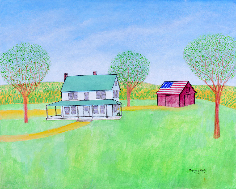 Available Paintings American Farm