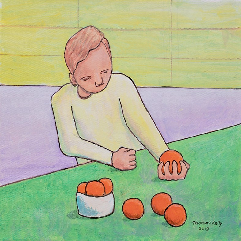 Collected Paintings A Man and His Oranges