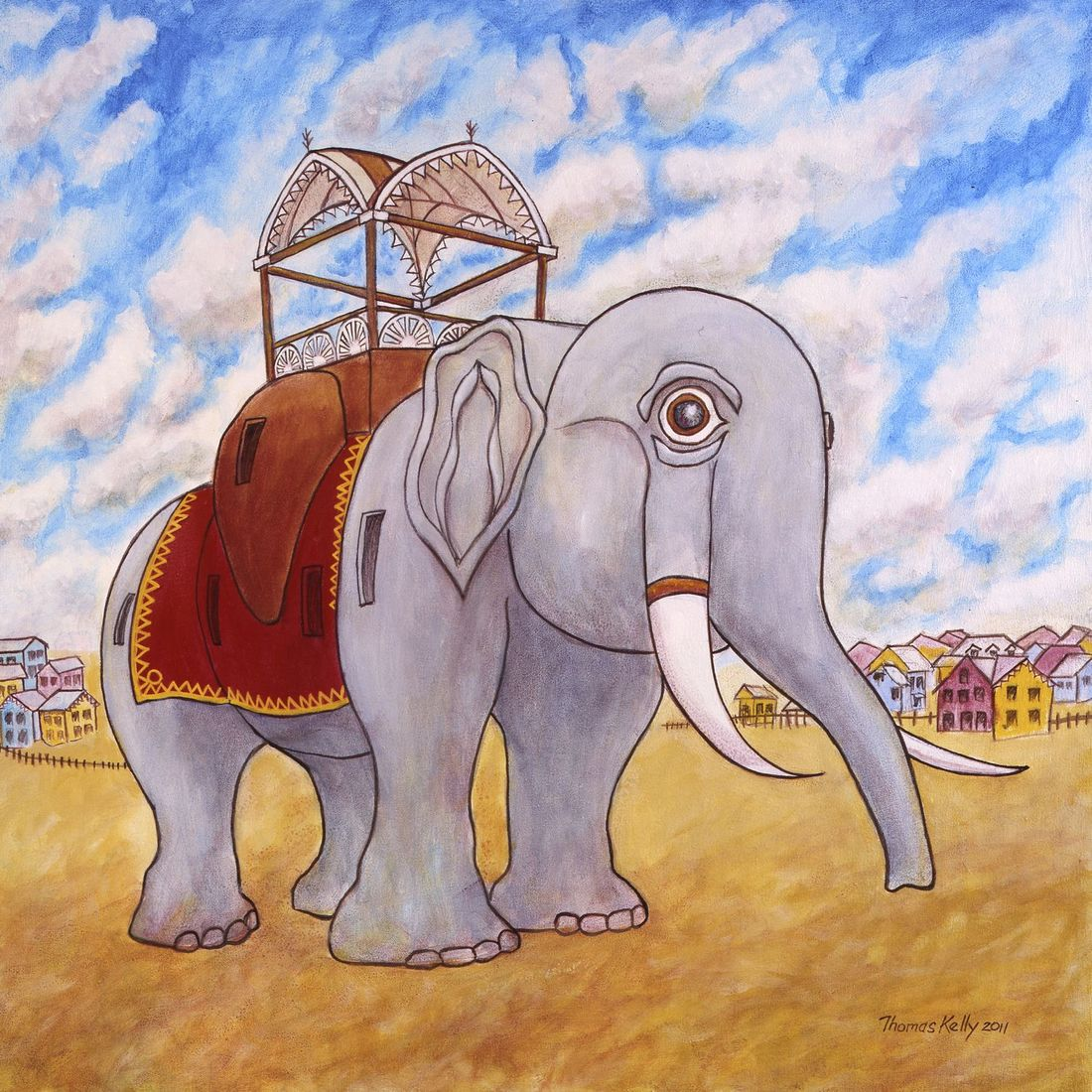 Collected Paintings Lucy the Elephant, Margate NJ