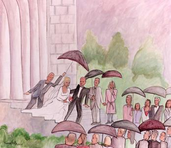 Rain on the Wedding Day