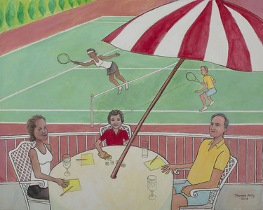 The Tennis Match