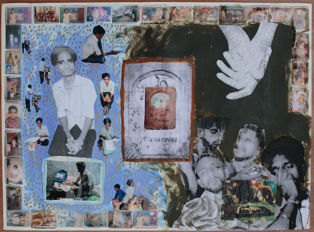 Tom Bradley Collaborative Collages